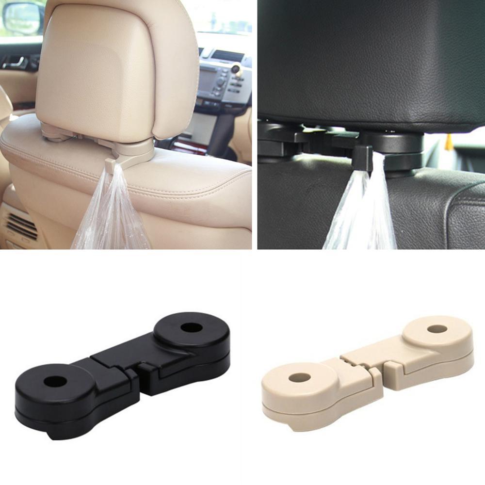 3 Pcs Car Back Seat Mount Hook Hidden Car Interior Supplies Multi-function Hang
