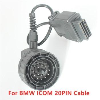 Stary kabel samochodowy 20PIN dla BMW ICOM A2 następne narzędzie diagnostyczne OBD2 16PIN Icom A2 A3 narzędzie diagnostyczne ICOMC ICOM C Icom kabel tanie i dobre opinie Acheheng CN (pochodzenie)