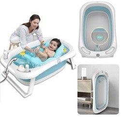 Складная Ванна для новорожденных, для детей, для домашних животных, Складная Ванна, для хранения, нескользящая, для кошек, собак, ванны, безоп...