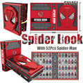 DHL livraison gratuite araignée livre édition de collection blocs de construction conception de personnage avec 52 pièces Spider Man jouets pour enfant SY1461