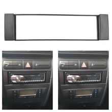 1Din Telaio per Seat Toledo Leon Fiat Scudo Audi A3 8L Audi A6 4B 1 din Autoradio Fascia DVD Stereo Pannello di Montaggio Adattatore
