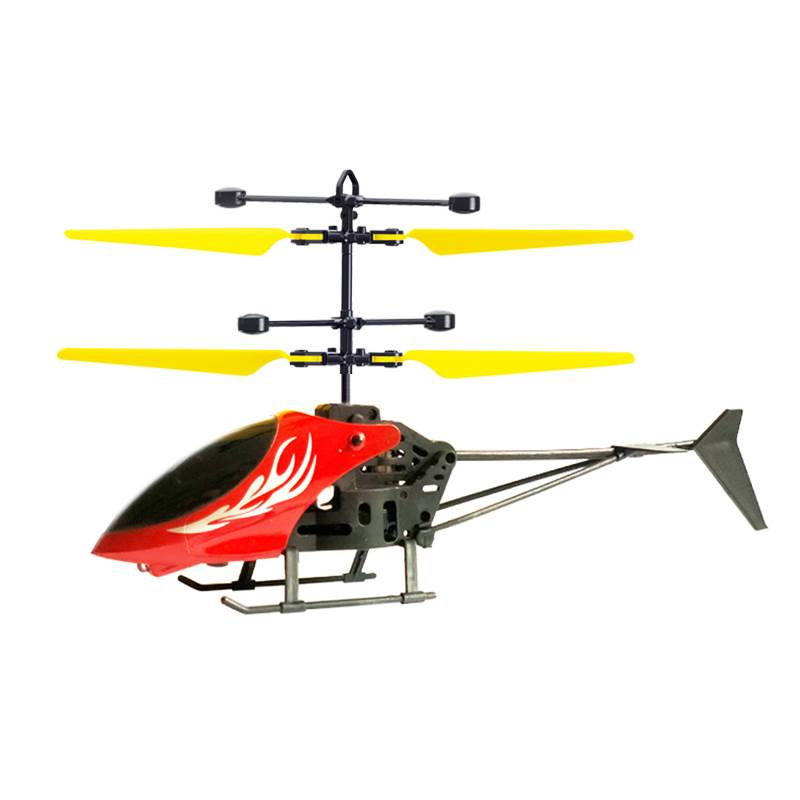 Flying Mini RC Infraed Hand induction Remote Control Aircraft Helicopter Plastic Flashing Light for Child Kids Toy Mini Helicopt|RC Helicopters| |  - title=