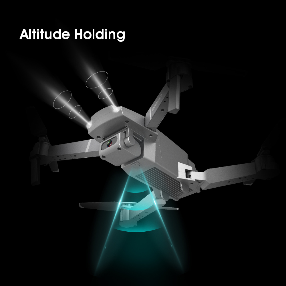 KaKBeir E68 drone HD wide angle 4K WIFI 1080P FPV drone video live recording Quadcopter height to maintain drone camera VS e58 3