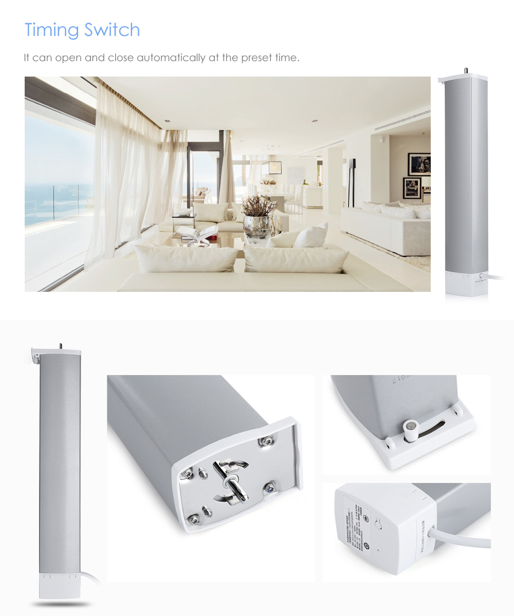 Купить с кэшбэком Aqara Smart Curtain Motor Intelligent Curtain Zigbee Mi Home APP Remote Control Wireless Timing Electric Curtain Motor