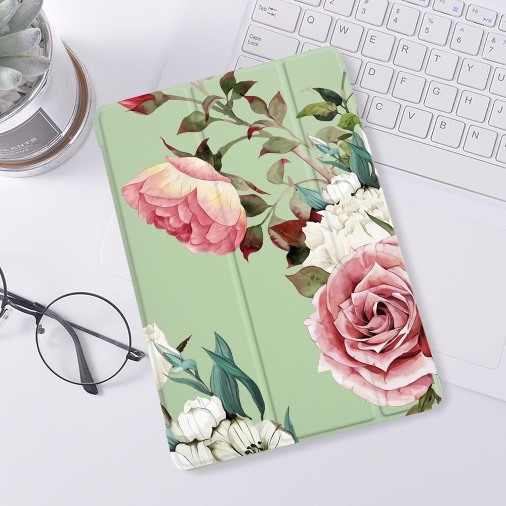Simpatici fiori per iPad 10.2 7th 8a generazione custodia in Silicone di lusso per iPad Pro 11 2020 custodia per ipad Air 4 Air 2 3 Cover Mini 5