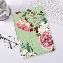 Bonito flores para ipad 10.2 7th 8th geração caso de silicone luxo para ipad pro 11 2020 caso para ipad ar 4 ar 2 3 capa mini 5