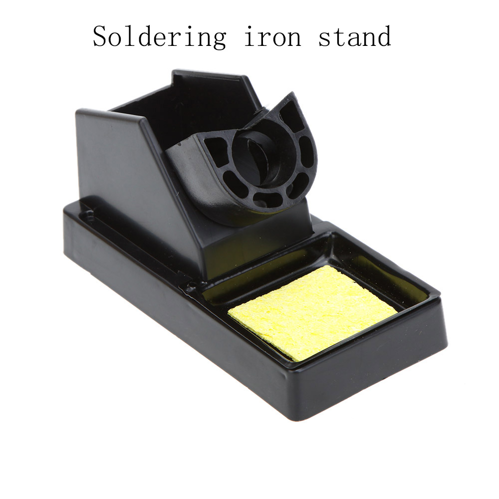 Soldering Iron Stand Solder Base Welding Wire Holder With Sponge