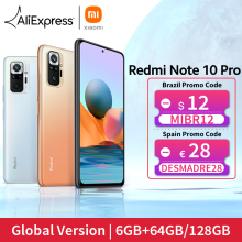 [World Premiere In Stock] Global Version Xiaomi Redmi Note 10 Pro Smartphone 108MP Camera Snapdragon 732G 120Hz AMOLED Display