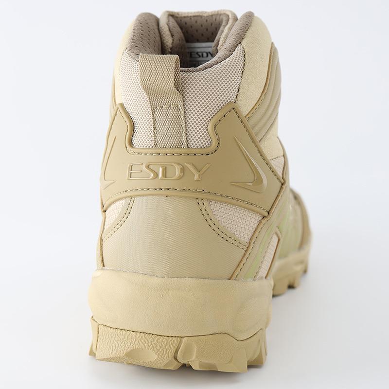 Модернизированные тактические армейские тренировочные ботинки для мужчин на открытом воздухе, для кемпинга, противоизносные, для быстрого...