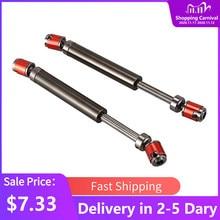2 шт. металлический CVD приводной вал 110-140 мм для 1/10 RC Rock Crawler Axial SCX10 90046
