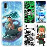 Soft Phone Case For Huawei P40 P30 P20 P10 Pro P8 P9 Lite P smart Z 2019 Plus One Piece Roronoa Zoro Covers P40lite