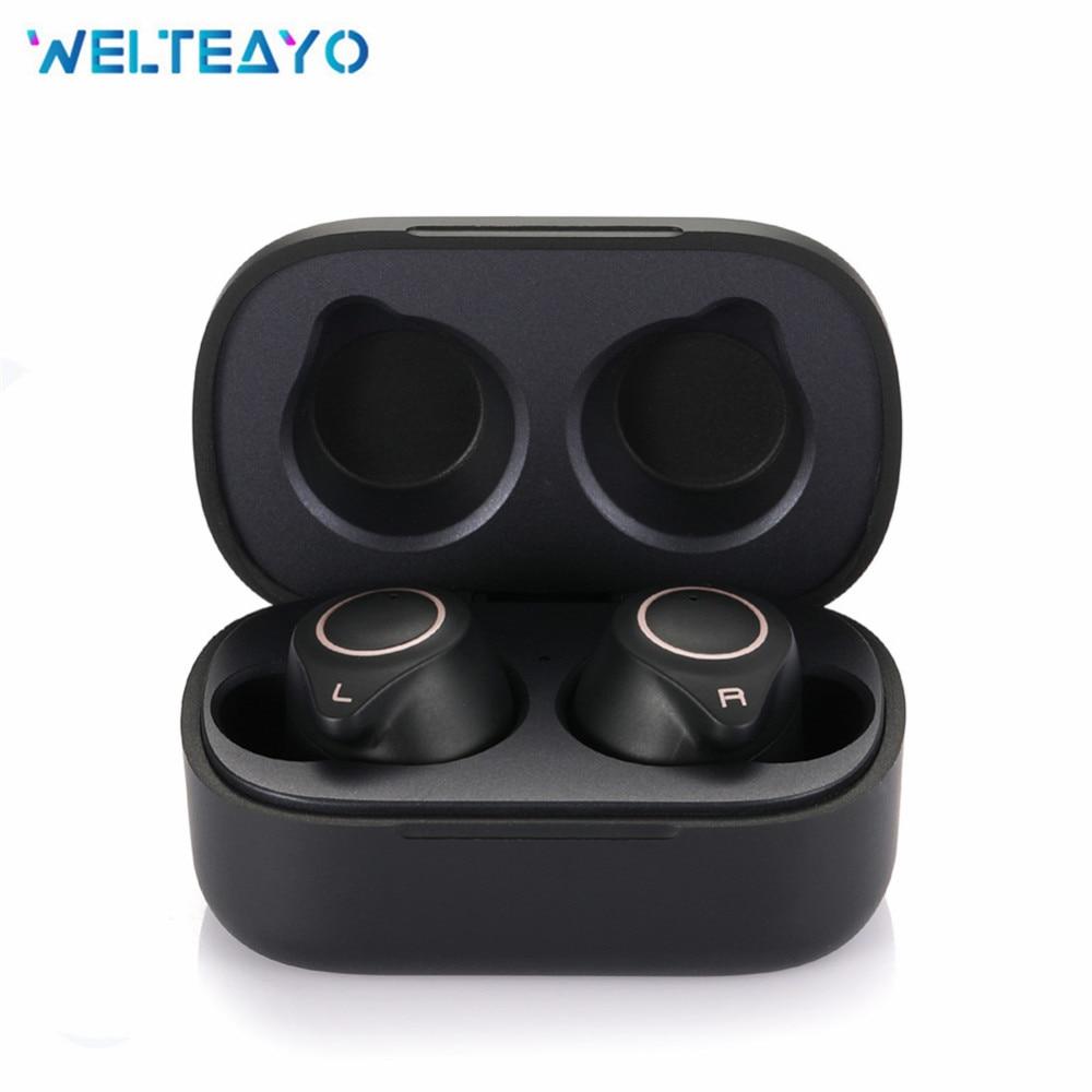 W1 aptX Wireless Bluetooth 5.0 Earbud 7hrs Earphone IPX7 Waterproof Bass AAC&SBC Headphones QCC3020 Processor Apt-X TWS Headset