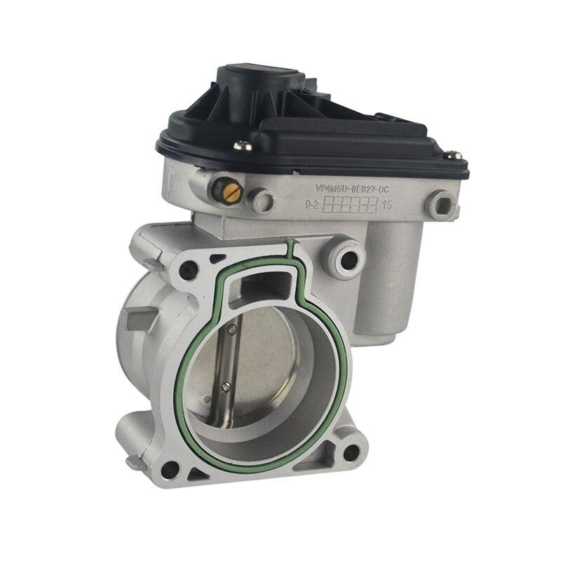 Электрический корпус дроссельной заслонки 4F9U9E928AC для Ford Focus Fiesta ST 150 Fusion Mondeo 1,8 T/2,0 T 2,3 2.5L 1556736 4M5U9E927DC, 60 мм