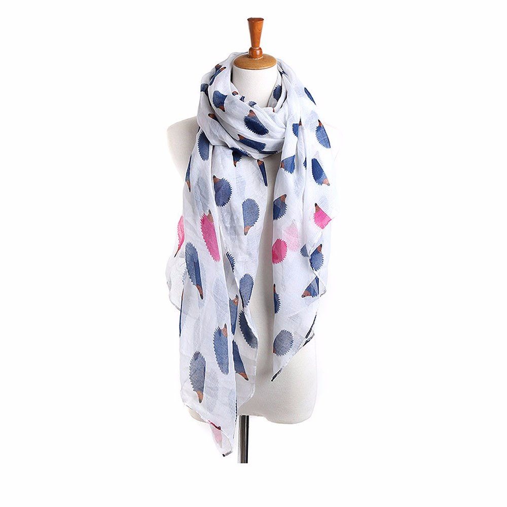 Women Scarf Thin Shawls And Wraps  Gray Lady Solid Female Hijab Stoles Long Cashmere Pashmina  Black