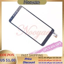Black Tested Digitizer Screen For BQ Mobile BQ 5518G Jeans Touch Screen Digitzer Sensor Glass panel + tracking