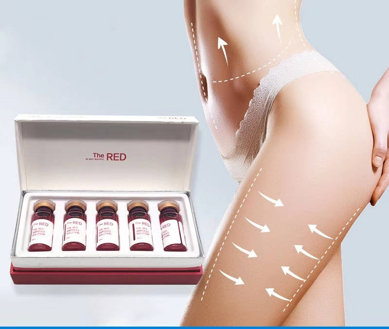 Korea Weight Loss THE RED Ampoule Slimming Solution Liposuction For Hyaluronic Pen Skin Firming Lipolytic Solution Fat Dissolve