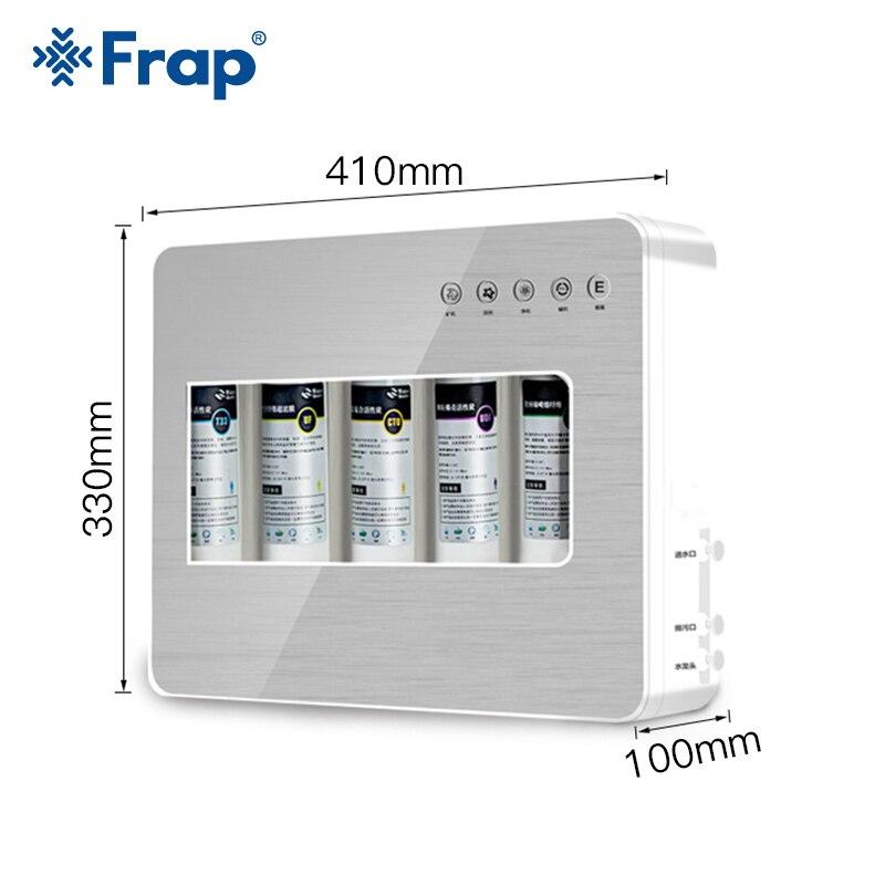 Frap cuisine appareil de Filtration Filtration de l'eau sous-plan de travail de lavabo Filtration maison cuisine purificateur système de filtres à eau - 2