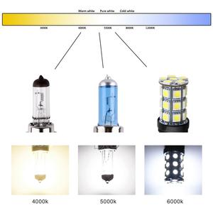 Image 5 - 2Pcs H7 55W 100W 12V פנס נורות הלוגן קסנון מלא סופר בהיר לבן רכב ערפל אור נהיגה מנורת יום ריצה אור
