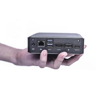 New Quad Core FAN Mini PC with 10th Gen Intel Core i710510U i5 10210U Plus windows M.2 DP HDMI Packet Computer Bluetooth Desktop