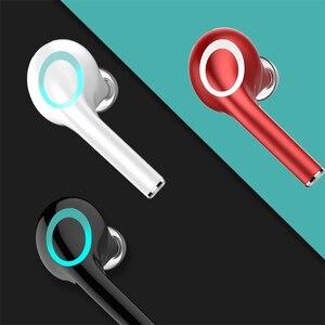 Image 5 - QH22 Fingerprint Touch Drahtlose Kopfhörer Bluetooth V5.0 3D Stereo Dual Mic Noise cancelling kopfhörer