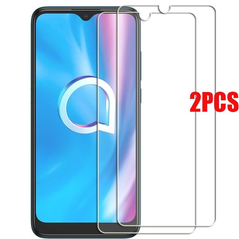 2 pçs para alcatel 1s 2020 protetor de vidro temperado em alcatel 1se 2020 protetor de tela capa de filme de vidro
