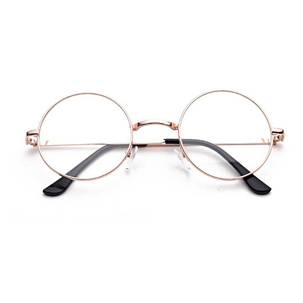 2019 redondo Vintage marcos de lentes para mujer UV400 gafas de gafas ópticas decorativo de Metal Gafas de sol polarizadas ROCKBROS para hombre, gafas de Ciclismo de carretera protección de conducción para bicicleta de montaña, gafas con 5 lentes