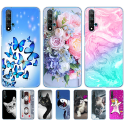 For Huawei Nova 5T Case Soft TPU Back Silicon Phone Cover For Nova5T 5 T YAL-L21 6.26'' Fundas Coque Bumper