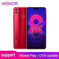 Honor 8X Support ROM Global Google store OTA 4GB 64GB 6.5 pouces écran 20MP double caméras Octa Core Smartphone téléphone Mobile