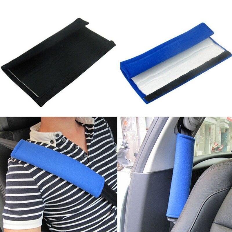 2 Pcs/Set Child Car Seatbelt Plush Cover Seat Belt Shoulder Strap Protective 54DF