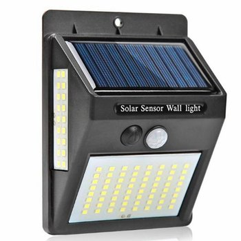 Outdoor Lighting 100 LED Solar Wall Light Waterproof Outdoor Lamp LED With PIR Motion Sensor Exterior Street Light image