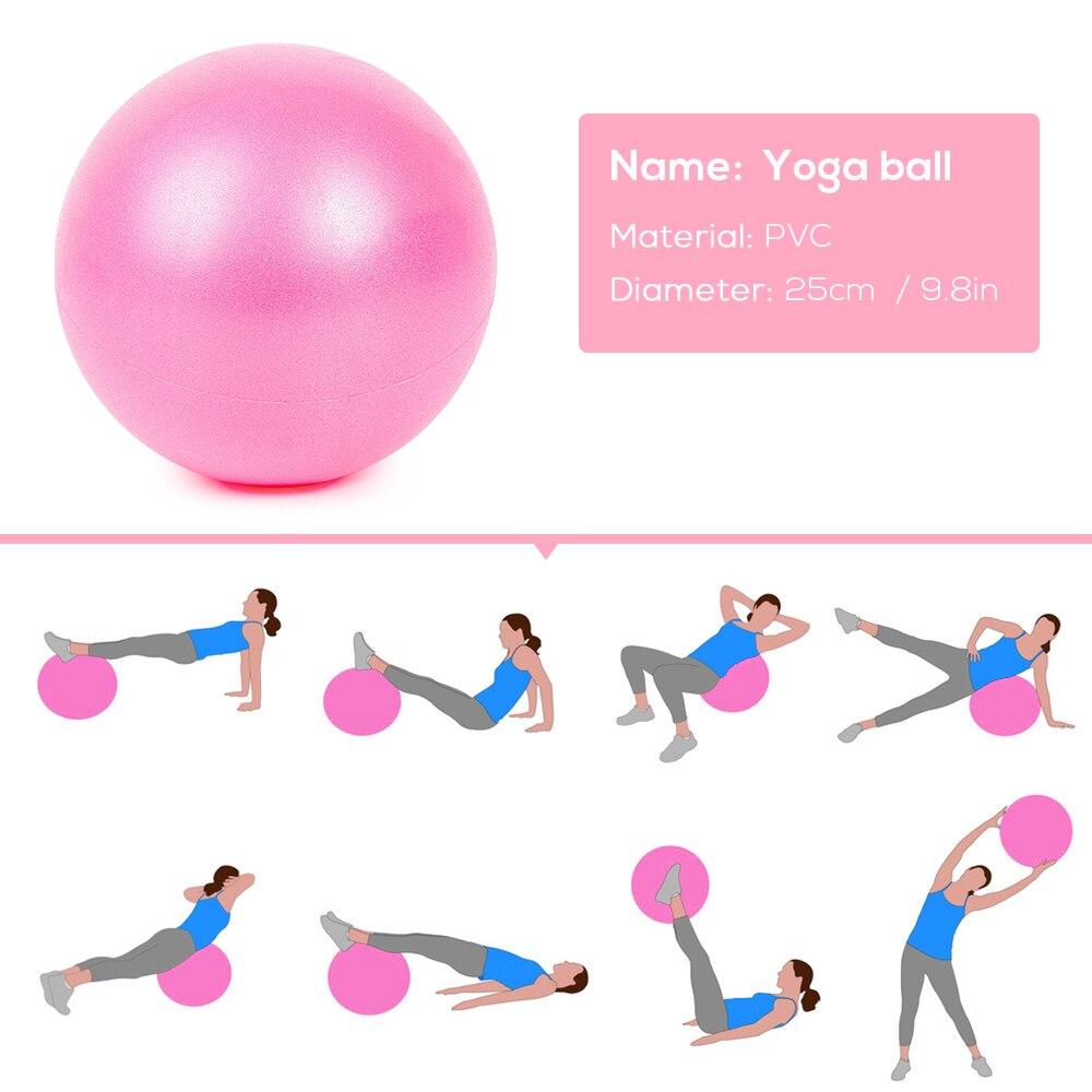 25cm Exercise Gymnastic GYM-Balance Training Yoga Pilates Ball Fitness Equipme