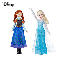Frozen Princess Elsa Original Anna Dolls Action Figures 27cm Toy Set Snow Queen Hot Classic Movie Christmas Gifts for Children