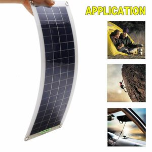 Image 4 - 220V 30W Solar Panel Battery Charger 1000W Inverter USB Kit Complete 10A Controller Solar Power System 220V Home Grid Camping