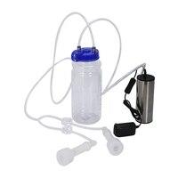 آلة الحلب الكهربائية آلة الحلب الحليب سميكة خزان المياه خرطوم مع تقييد التدفق