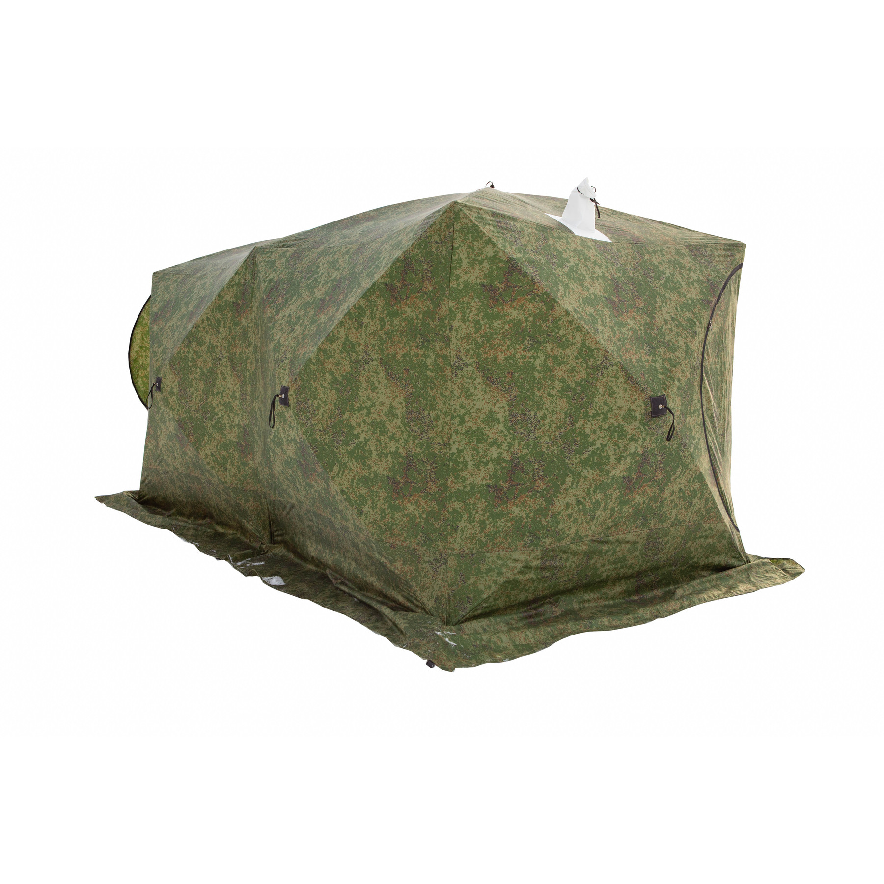 Tent Stek куб-3 Double (three Layer), Goods For Fishing, Tourism, Goods For Winter Fishing