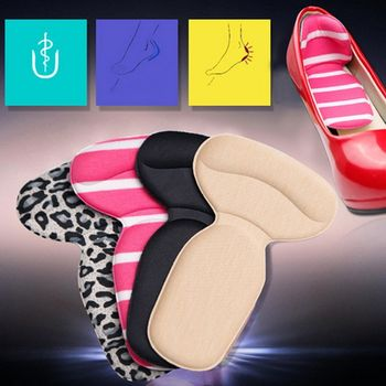 1Pair T-Shape High Heel Grips Liner Arch Support Orthotic Shoes Insert Insoles Foot Heel Protector Cushion Pads for Women 1 pair high quality sponge invisible back soft heel pads for high heel shoes grip adhesive liner cushion insert pads insoles ht3