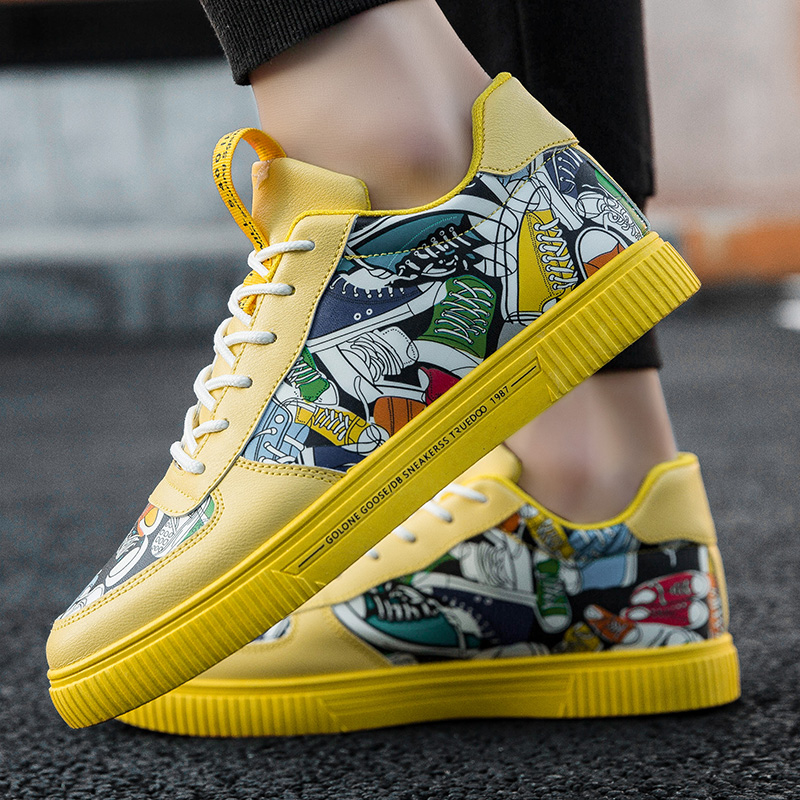 Explosive canvas shoes  fashion sneakers  sneakers women sneakers men|Skateboarding| |  - title=