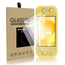 Full Tempered Glass Cloth Protective Film Surface Protector for Nintend Switch NS Console 6 polegada Screen Protector tempered glass ultra clear full hd screen protective film surface guard for nintend switch ns console protector cover skin
