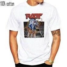 Ratt 80s banda rat no estúdio controlador de música adulto t camisa de metal pesado música