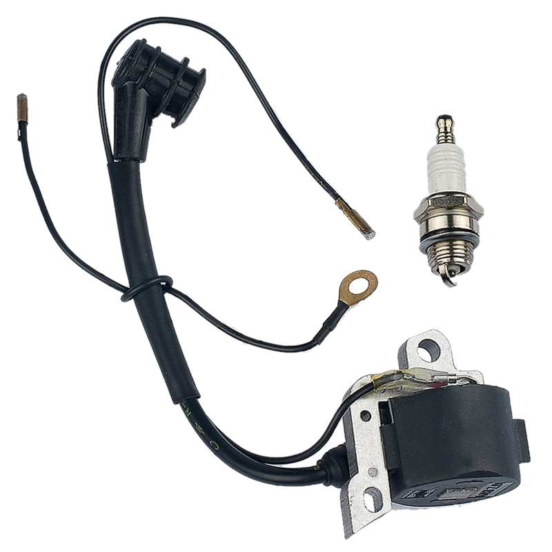 Ignition Coil Spark Plug For STIHL MS260 024 026 028 038 MS380 MS381 038