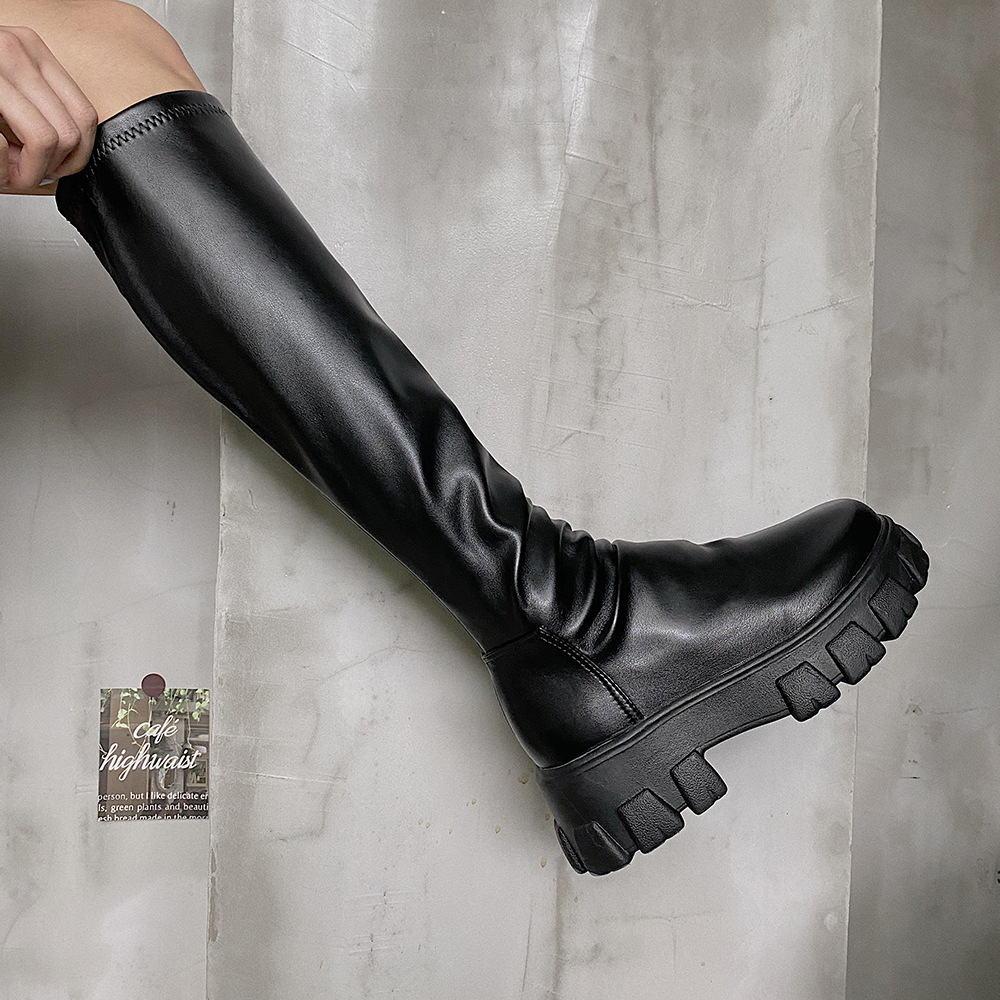 Children's Boots 2021 Autumn New Fashion Short Boots Handsome But Knee Boots Three Length Options Woman Shoes