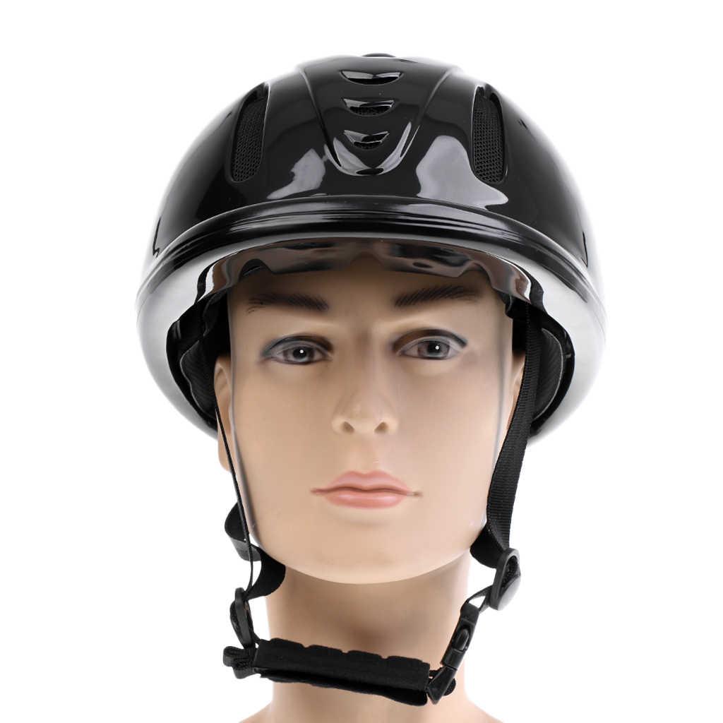 Kadın güvenlik at binicilik yelek vücut koruyucu kask boyutu M
