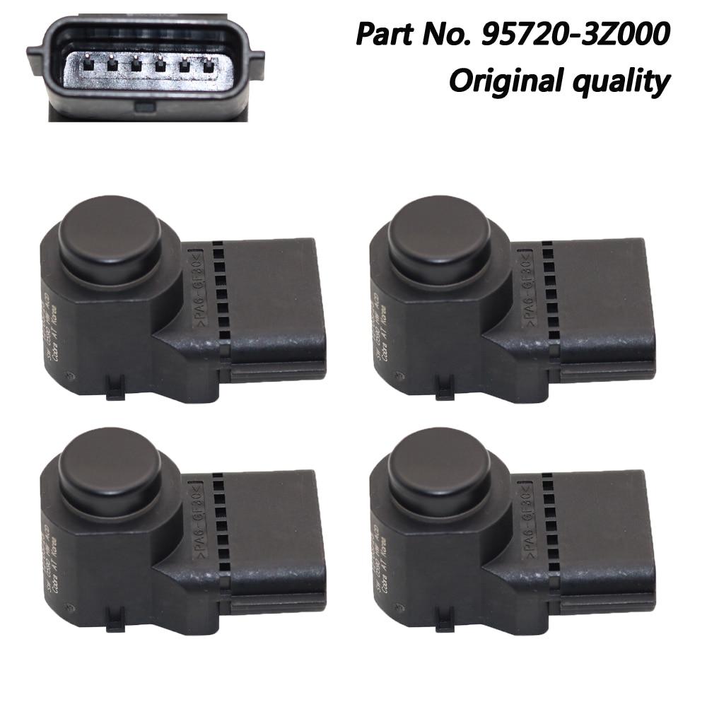 Подержанный OEM 95720-3Z000 черный PDC датчик парковки для Hyundai i40 4MT006HCD