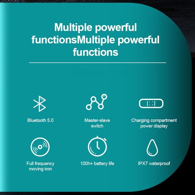 R20 TWS Bluetooth Earphone Wireless  6