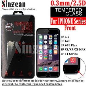 """Image 1 - Sinzean 100PCS 아이폰 12 5.4 """"6.1"""" 6.7 """"/678 플러스 아이폰 11 PRO MAX MAX/XR 스크린 프로텍터"""