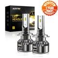 2x Canbus H7 светодиодный автомобильный Головной фонарь  лампы для Mercedes W203 W204 W205  автомобильные фары 6000K 48 Вт 16000LM светодиодный H1 H7 дальнего и ближ...