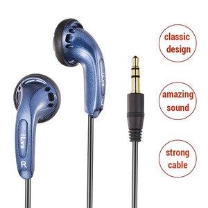Image 1 - 3.5mm 이어폰 이어 버드 이어폰 플랫 헤드 플러그베이스 이어폰 xiaomi 이어폰 fone de ouvido for meizu cheadset