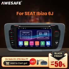 Awesafe 2 Din Android Auto Radio Multimedia Video Player Gps Navigatie Voor Seat Ibiza MK4 6J 2008 2009 2010 2013 Dvd