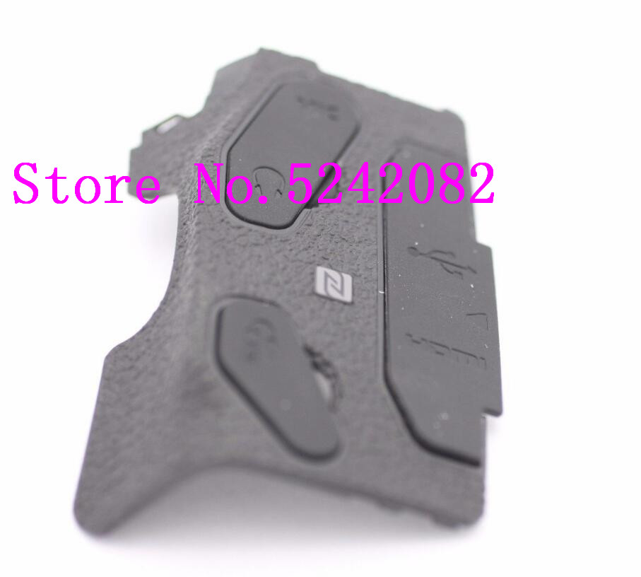 New Original Left Side USB HDMI I/F Interface Rubber Cover Repair Parts For Canon FOR EOS 80d SLR (with Adhesive )