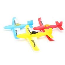 MINI EPP Foam Hand Throw P51 Airplane Outdoor Launch Glider Plane Kids Fun Toy 31CM For Child gifts DIY RC Model ж е кайсарова теория социальной работы